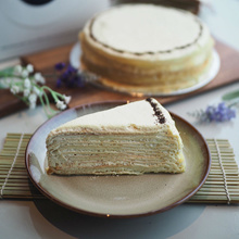 [UnderTree] Earl Grey Mille Crepe Cake! Free Shipping!