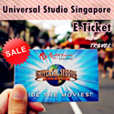 【New Travel-Qoo10 Best Deal】Universal Studio Singapore Ticket USS One day Pass E-Ticket 新加坡环球影城电子票