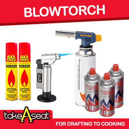Blow Torch / Butane Gas Canister Bottles For Steamboat Gas Cooker Stove
