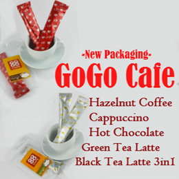 NEW LAUNCH - 赶快以促销价购(1包有3条装)GoGoCafe (New packaging) Try Now ! New PACKS (3 Sticks Per Pack)