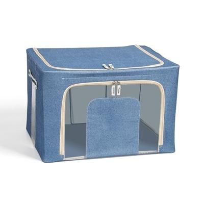 Dust Free Storage Box 66L Jean Blue (Ver2)