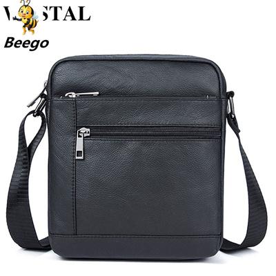 878667eb1815 WESTAL Messenger Bag Men Genuine Leather Shoulder Bag Men Leather Small  ipad Crossbody Bags for men