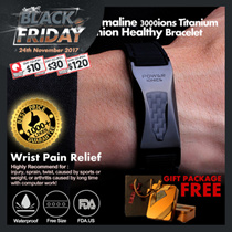 [Christmas Gifts]Power Ionics Unisex Sports Waterproof Healthy Bio Wristband Bracelet