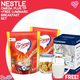 [NESTLÉ®] Omega Plus  [Free Luminarc Breakfast Set!]