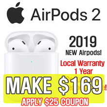 SG Apple Warranty ★ / Genuine Apple Apple AirPods Gen 2 Wireless Bluetooth Earphones / Genuine Apple