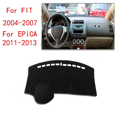 Honda Fit 2004 To 2007 Car Dashboard Cover Avoid Light Pad Instrument Platm Dash Board