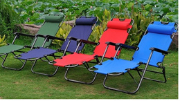 2 Way Bed/ Foldable Bed/ Foldable Chair/ Outdoor/ Home Relaxing Chair