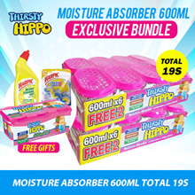 Thirsty Hippo Dehumidifier Moisture Absorber Buy 12 Free 4. FREE Hippo 3s. Total 19s