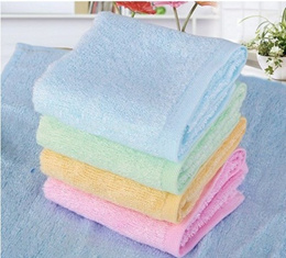 High Quality Bamboo Fiber Face Towel/Baby Towels/Wash clothes/Kitchen uses