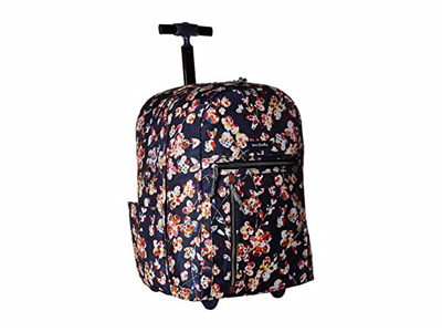 4c475854ad41 Qoo10 - Vera Bradley Lighten Up Large Rolling Backpack   Bag   Wallet