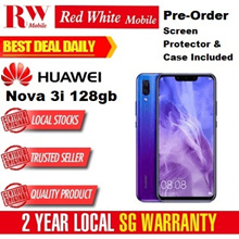 Huawei Nova 3i 128GB (Black/Purple) 2 Year Huawei Singapore Warranty
