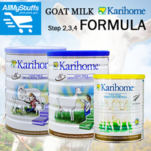 【Karihome】Goat Milk Powder ● Stage 2/3/4 ● Follow-On/Growing-up/Pre-school Formula ●