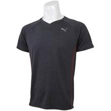 PUMA PUMA SS TEE sweat quick drying short sleeve T shirt [color: black] [size: M] # 514209-01