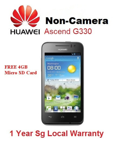 Qoo10 - HUAWEI G330 Non-Cam : Mobile Accessories