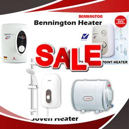 Hari Raya Promotion  - Joven | Benington | Alpha | Famous | Instant Heater | Water Heater