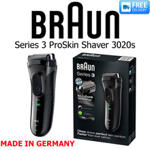BRAUN - Series 3 ProSkin Rechargeable Electric Shaver - MODEL: 3020s  - FREE DELIVERY!