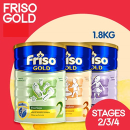 [Friso]【SINGLE TIN PROMO】Friso Gold 1.8KG | Stages 2/3/4 | Made from Netherlands for SG