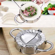 Kitchen Tools Dumpling Jiaozi Maker Mould Eco-Friendly Pastry Stainless Steel Wraper Dough Cutter Ki
