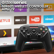 SteelSeries Nimbus Wireless Controller - Apple TV / Gaming / Pressure Sensitive Buttons