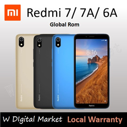 Xiaomi Redmi 6/6A/6Pro/Note 6Pro/Global version/Export Set///With Google Playstore/1 month warranty