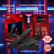 ♛★SVICLOUD★2020 3PLUS TVBOX★Android IPTV Box/unblock evpad/VOD Smart Box/LOCAL Warranty★♛