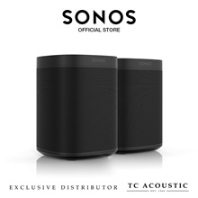 Sonos One Bundle - Smart Speaker for Streaming Music
