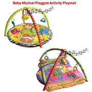 Baby Musical Playgym Activity Gym and Play Crawling Mat Playmat
