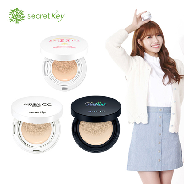 [Secret Key] Tattoo Cover Cushion/Natural CC Cushion SPF 50+PA++/[Secret Key] The Premium Snow White Deals for only Rp152.000 instead of Rp152.000