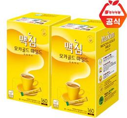 Maxim KOREA CoffeeMix mocha gold mild 160t / white gold 160t / coffee mix bestselling