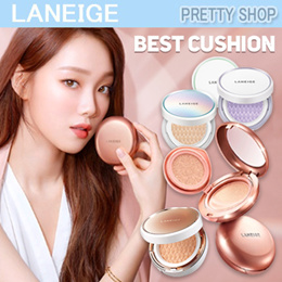 ★QOO10 LOWEST PRICE★[LANEIGE]BEST CUSHION COLLECTION ! layering cushion/pore control/whitening/anti aging