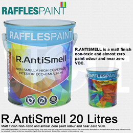 Raffles Paint R.Anti-Smell Emulsion Paint 20 Litres MADE IN SINGAPORE