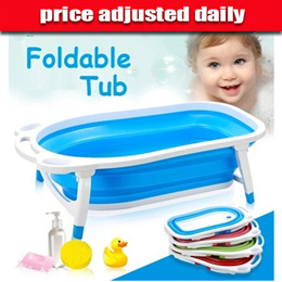 Restock sale!! OBE patented Foldable collapsable baby child newborn bathtub safety Bath Tub