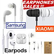 Samsung IPhone Xiaomi Piston Earphone Redmi 1/2/3 Note Earpod Earpiece Galaxy S4 S6 S7 S8 With Mic