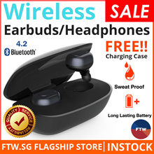 [FLASH SALE!!] Awei Baseus USAMS Wireless Earbuds Bluetooth Earphones Earpiece Earphone Airpods