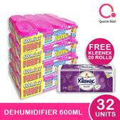 [RB] Thirsty Hippo Promo!!! Dehumidifier 600ml x 32 + Free Kleenex Bath Tissue 20 rolls