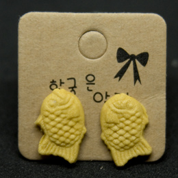 Handmade Clay Earrings - Taiyaki Earrings
