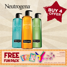 APPLY $5+$10 COUPON!![NEUTROGENA]Any 4 at $53!!Rainbath Refreshing/ Renewing Pear Green Tea/Replenishing Ocean Mist 473ml