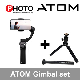 Snoppa Atom: The only foldable Gimbal for smartphones on the market!