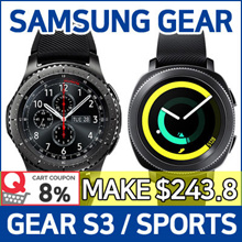 [8% Promo] SAMSUNG Gear Sport / Gear S3 Frontier / Classic ★ Smart Watch / GPS Sports Band
