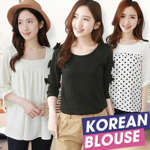 [SALE SALE SALE]HOT KOREAN FASHION WOMEN TOPS and BLOUSE Deals for only Rp55.000 instead of Rp55.000