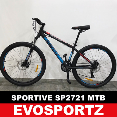 8d383b0630d LARGE WHEELS Sportive Mountain Bike SP2721 / 27.5 Inch MTB with Shimano  Parts and Disc Brakes