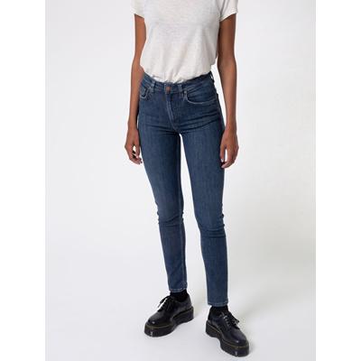 Nudie Skinny Jeans Hightop Tilde Blue Tide - 30