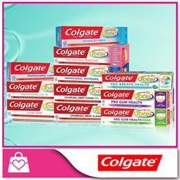 BUNDLE OF 6 CLEARANCE SALE!! [COLGATE] Total Care Toothpaste  - Bundle of 6