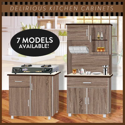 Qoo10 Delirious Kitchen Cabinet Available In 7 Models Kitchen