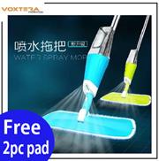 【Extra Mop Heads】DAISU Microfiber Spray Mop Reusable Easy to Use Floor Cleaning Mop