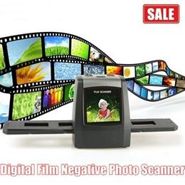 5MP Digital Film Negative Photo Scanner / Converter 35mm USB LCD Slide 2.36 TFT