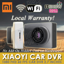 [XIAOYI CAR DVR ★ NETT ★] Xiaomi Yi 1080P FHD 30/60fps Car WiFi DVR 2.7 inches Screen[Export Set]