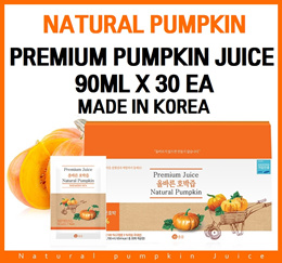 Premium Natural Pumpkin Juice 90ml x 30 packs/ Diet Juice/Red Cabbage/Acai Berry/Food/