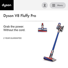 Brand New Dyson SV10 V8 Fluffy Pro Cordless Vacuum SV10FluffyPro. Local SG Stock and warranty !!
