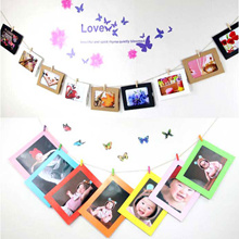 Paper Photo Frame l 6 inch Hanging Frame l Peg l Decoration l Gift l 4R photo